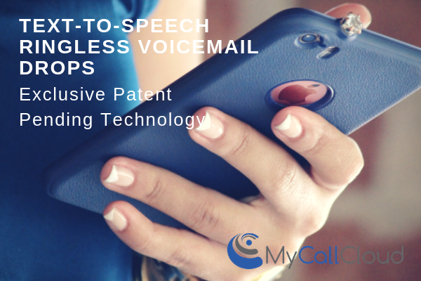 text to speech ringless voicemail drops