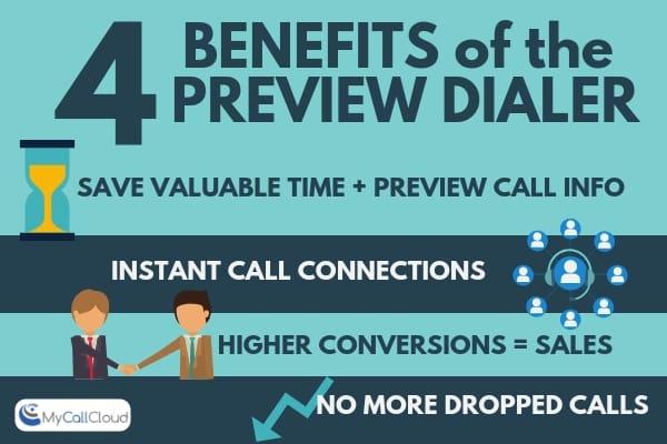 preview dialer benefits