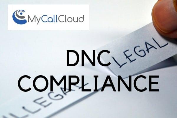 Contact Center DNC compliance
